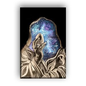 The Mystic Egg – Canvas Print