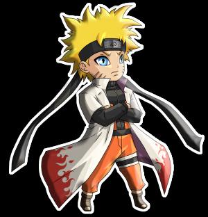 Kyūbi Naruto Sticker Collection