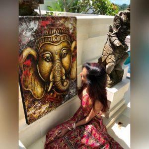 Ganesha – Canvas Print