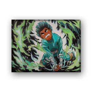 Rock Lee – Canvas Print