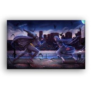 Intergalactic Showdown – Canvas Print